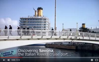 Il nuovo video youtube che presenta Savona ai turisti di Costa Crociere