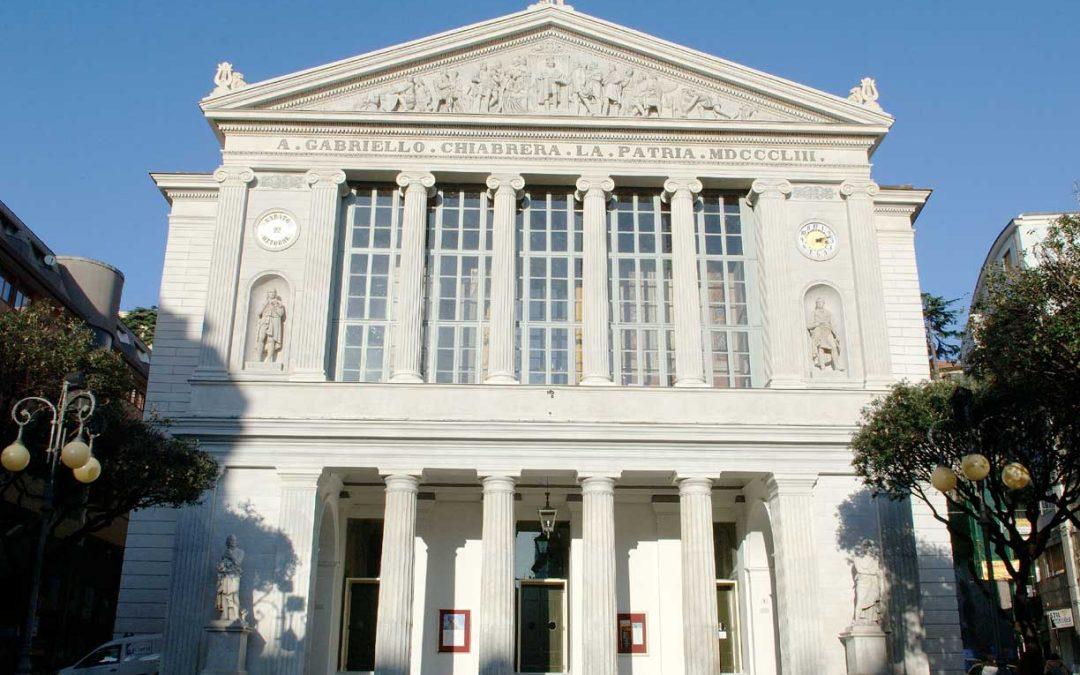 A prestigious teatroa Savona: Chiabrera Theatre Sonia Pedalino