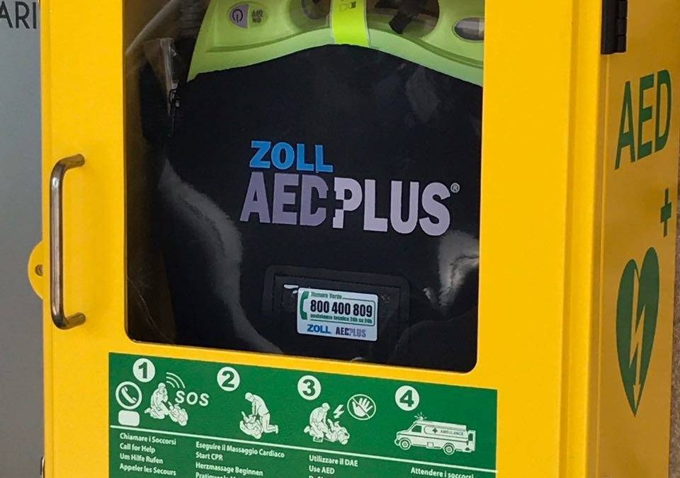 Ad Albissola Marina  arriva il defibrillatore acquistato dai cittadini