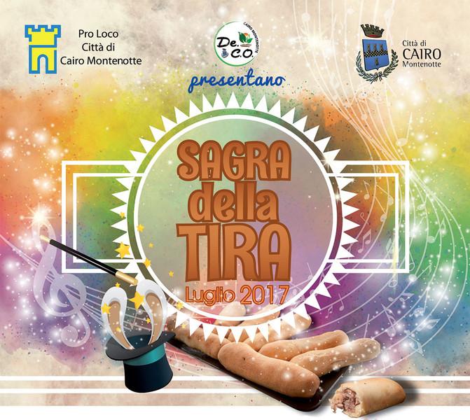 Sagra della Tira a Cairo Montenotte tra gastronomia, sport e musica!