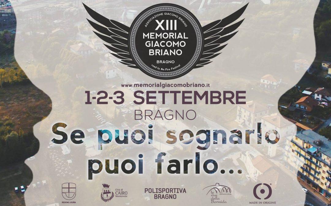 XIII Memorial Giacomo Briano: Se puoi sognarlo, puoi farlo