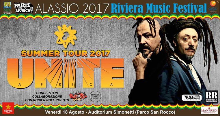AFRICA UNITE in concerto al Riviera Music Festival Alassio 2017!
