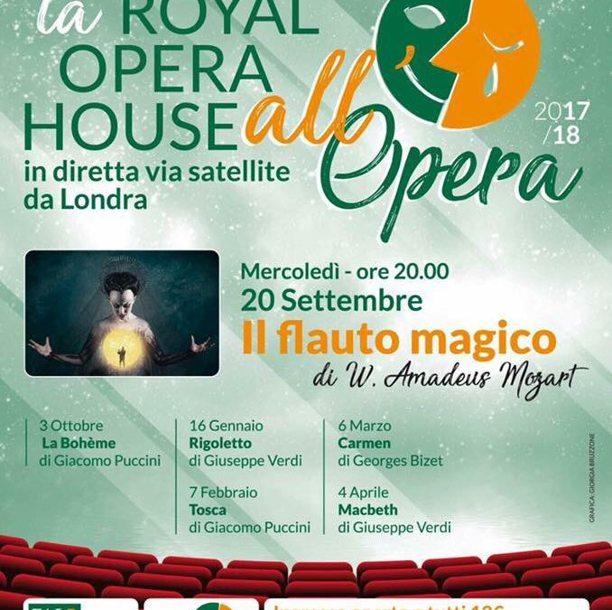 Savona – La Royal Opera House in diretta via satellite