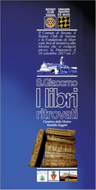 """Savona : Prosegue la mostra """" I Libri Ritrovati"""" alla Pinacoteca Civica"""
