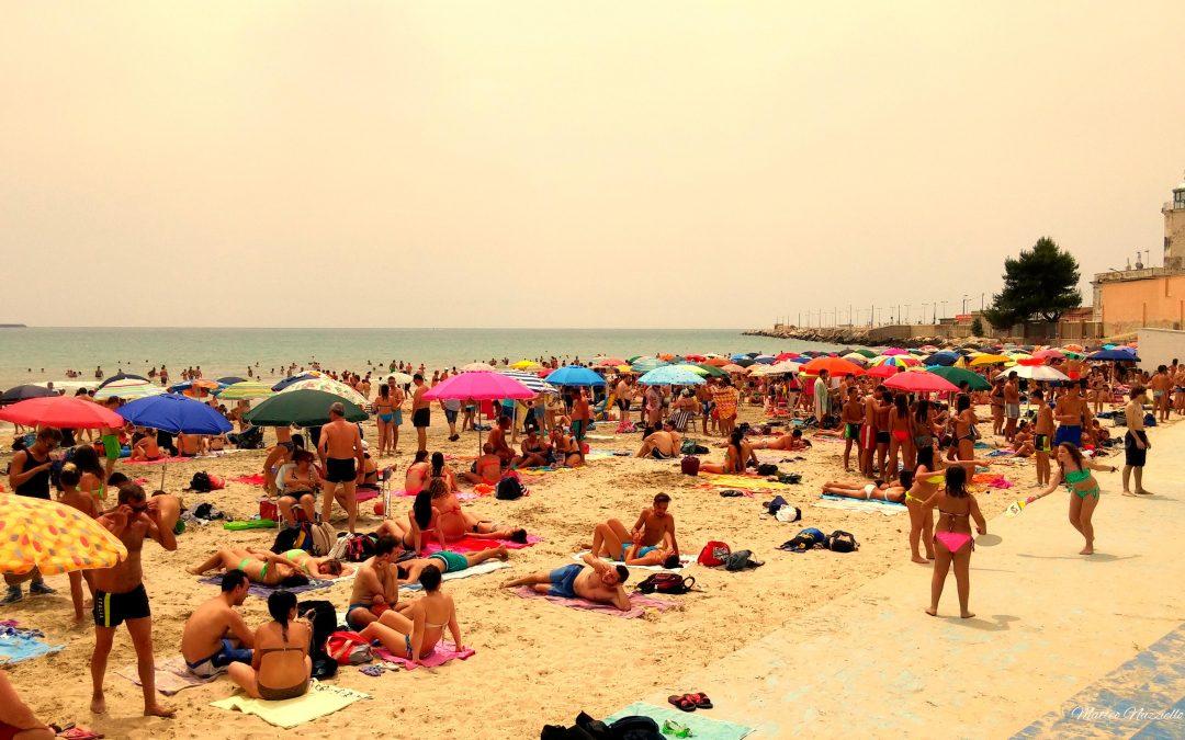 La spiaggia come spaccato sociologico dell'umanità.