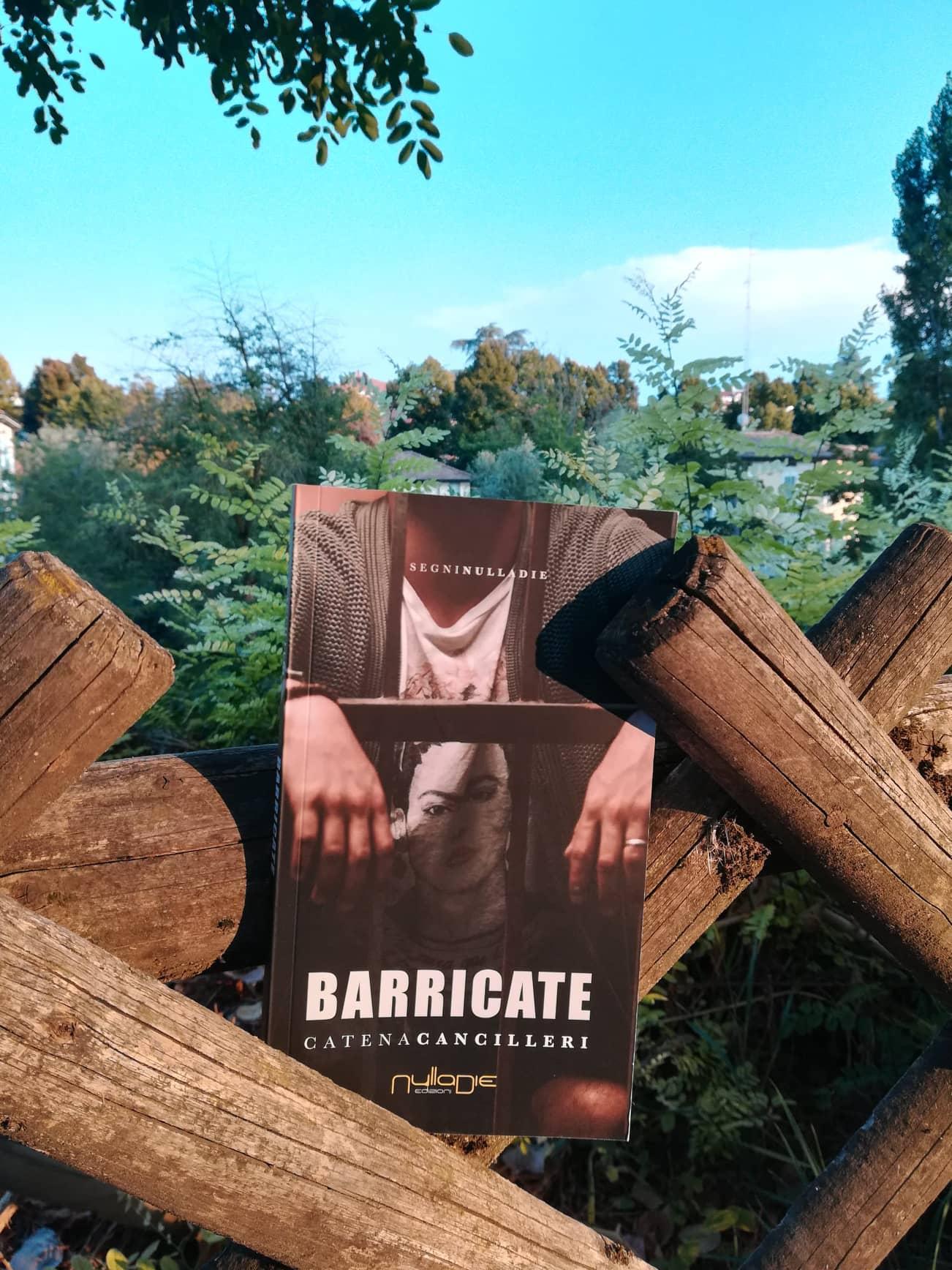 """Parlando di """"Barricate"""", il nuovo libro di Catena Cancilleri."""