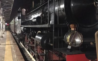 A turists train from Ceva to Ormea