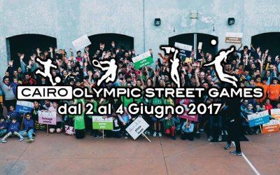 CAIRO OLYMPIC STREET GAMES : al via la quarta edizione!