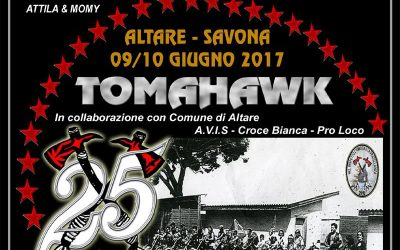 Motorad 24 Tomahawk, il Memorial per Attila & Momy