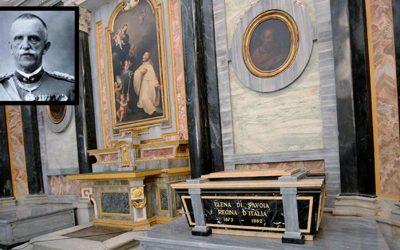 Nel santuario di Vicoforte arriva anche Vittorio Emanuele III