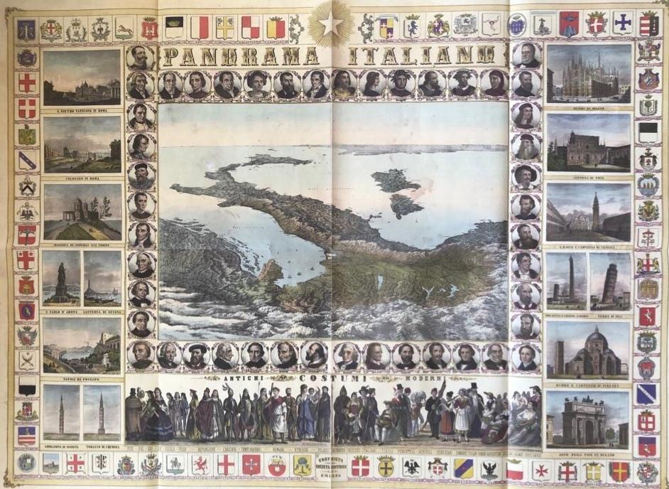 cartina 1861 di Istituto nazionale Tributaristi